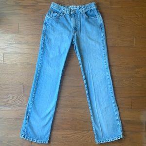 Express Bleus   Vintage 90s Size 3/4 Regular Boot Cut High Waist Jeans